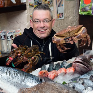 Nic Rascle - Fish monger and chef. La Petite Poissonnerie